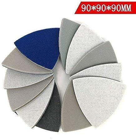 "5/"" 125mm Wet Dry Sanding Disc Hook Loop 800-10000 Grit  Sandpaper Polishing Car"