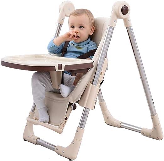 Zhoumin Silla de alimentación para bebés Sillas Altas para niños ...
