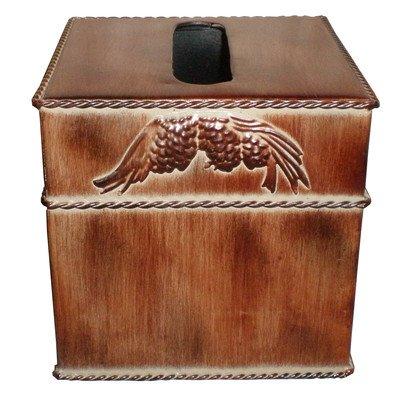 HiEnd Accents Pine Cone Tissue Box