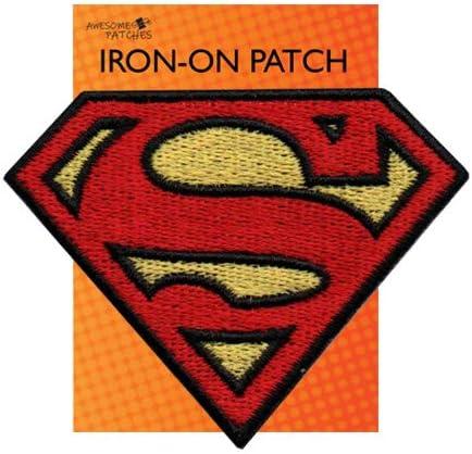 Super-h/éros Superman brod/ée Chiffon Iron on Patch