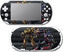 Transformers Optimus Prime Bumblebee Autobots Robots Video Game Vinyl Decal Skin Sticker Cover for Sony Playstation Vita Slim 2000 Series System by Vinyl Skin Designs