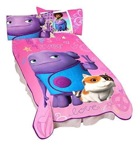 "Dreamworks Home Oh So Cool Microraschel Blanket, 62"" x 90"""