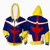 My Hero Academia 3D Hoodie Sweatshirt, Boys Boku No
