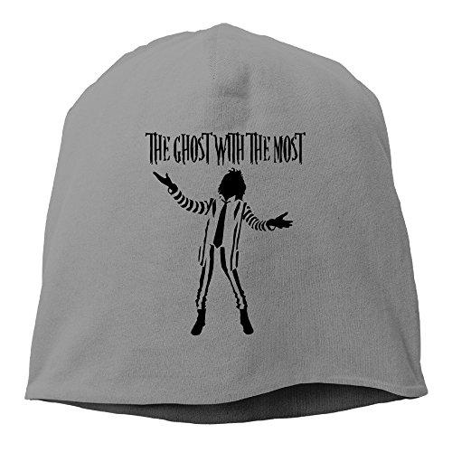Caryonom Adult Beetlejuice Logo Beanies Skull Ski Cap Hat DeepHeather