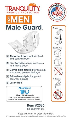 Tranquility Male Guard - 2 Pack Sample by Tranquility (Image #3)