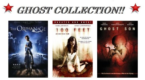 The Orphanage (Widescreen), 100 Feet (Unrated & Uncut) and Ghost Son (Not Rated)