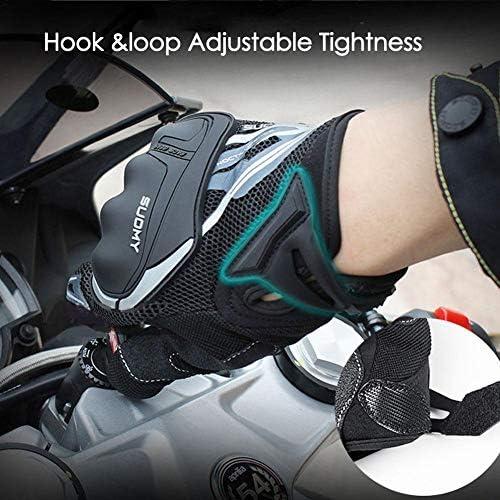 Yunhigh Guantes de Moto Protecci/ón de Pantalla t/áctil de Verano Dedo Completo Hombres Mujeres para Motocicleta ATV Ciclismo Escalada Senderismo Deportes al Aire Libre