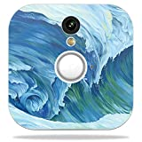 MightySkins Skin for Blink Home Security Camera – Perfect Wave | Protective, Durable, and Unique Vinyl Decal wrap Cover | Easy to Apply, Remove, and Change Styles | Made in The USA Review