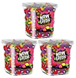 Now & Later Original Taffy Chews Candy, Assorted, 150 Count Chews, 90 Ounce Jar (Pack of 3)