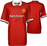Ryan Giggs Manchester United Autographed 1999 Home Jersey - ICONS - Fanatics Authentic Certified - Autographed Soccer Jerseys