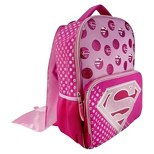 Supergirl Light-Up 16 Backpack with Detachable Cape