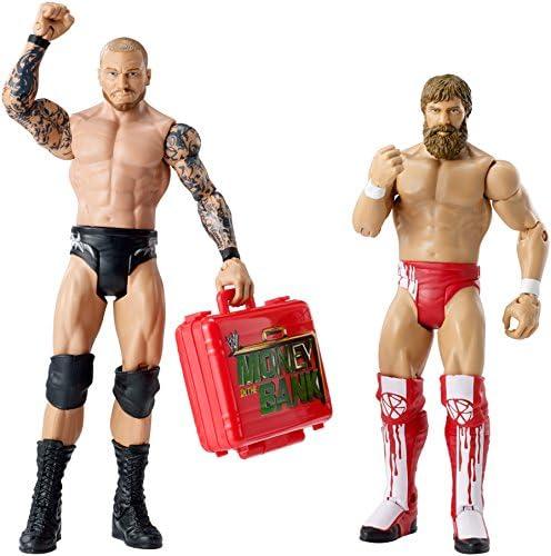 WWE Wrestling Series 27 Battle Pack DANIEL BRYAN vs RANDY ORTON (Includes Money In The Bank Briefcase): Amazon.es: Juguetes y juegos
