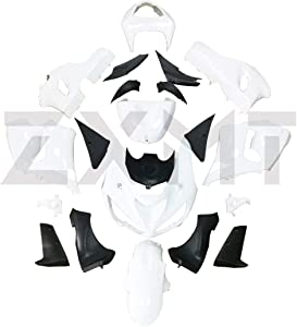 ZXMT Unpainted Fairing Kit for Kawasaki Ninja ZX6R ZX 636 2005-2006 (21 Pcs)