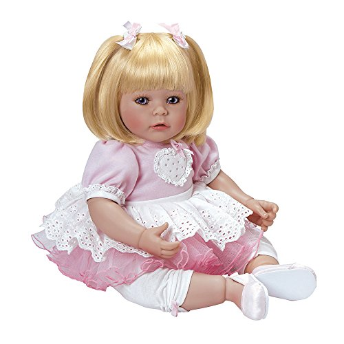Adora Toddler Hearts Aflutter 20'' Girl Weighted Doll Gift Set For Children by Adora