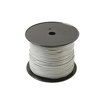 Steren 300-840 304.8m Plata cable telefónico - Cable para teléfonos fijos