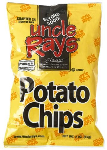 (Uncle Rays Regular Potato Chips, 2-Ounces (Pack of 24))