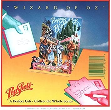 Amazon hollywood classics pop up greeting card wizard of oz hollywood classics pop up greeting card wizard of oz birthday card ps bookmarktalkfo Image collections