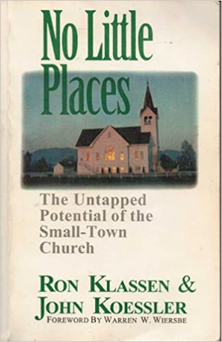 the strategically small church obrien br andon j
