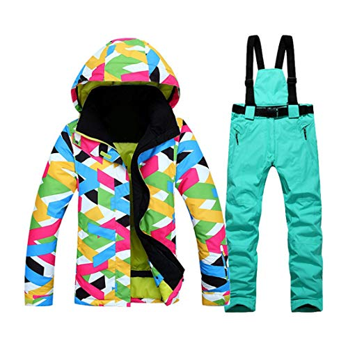 2017 l'eau Veste Pantalon Ski Costume Coupe en Mode Air Super Hiver Plein Impermable Manteau Costume Vtements Femmes Vent Chaud Ski rwaTgrq