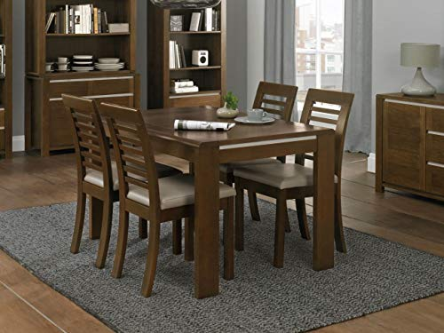 Everhome Designs - Savannah 7 Piece Extension Dining Table Set for 6