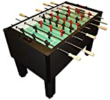Gold Standard Games Home Pro Foosball Table (Charcoal (Chrome Rods-Wood Handles))