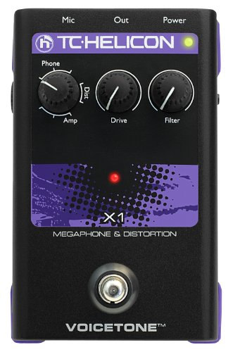 TC Electronic Singles VoiceTone X1 Vocal Effects Processor by TC-Helicon
