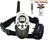 TrainPro M613 1100 Yard Shock Collars for Dog Training. Improve Behavior or! SAFETY Control with 8 Adjustable Levels. Great for OPEN FIELD Adventures. Guaranteed for Bark Control!