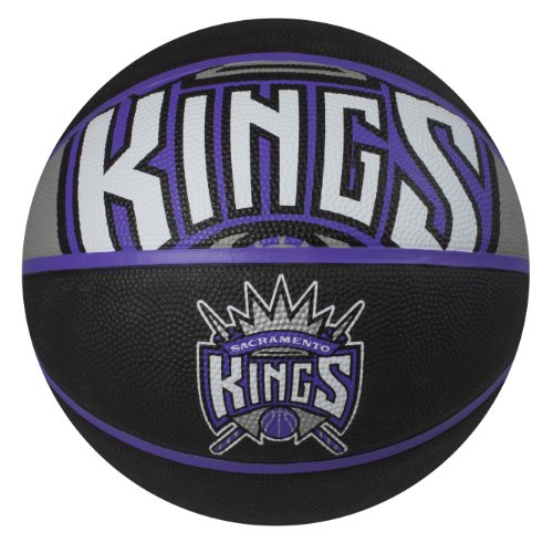 Spalding NBA Sacramento Kings Courtside Rubber Basketball (Sacramento Nba Basketball Kings)