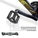 Zebbyee-Pedali-MTB-Bici-Flat-Pedale-Bicicletta-da-Corsa-BMX-Ciclismo-916-Antiscivolo-CNC-in-Lega-di-Alluminio-Ultra-Sealed-Cuscinetto-ASSE
