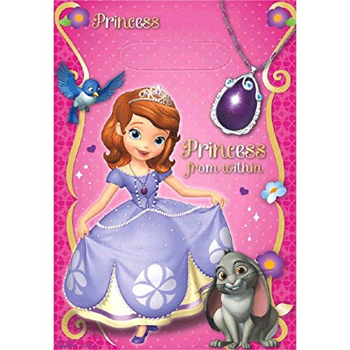 American Greetings Disney Sofia The First Princess Birthday Party Favor Pack -