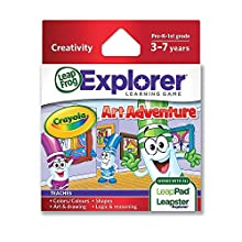 LeapFrog Enterprises Explorer Learning Game Crayola Art Adventure