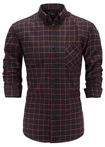 Black Flannel Shirt - 7