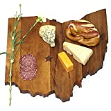 Ohio State Cutting Board: Premium-grade Custom Wooden Chopping or Cheese Board from SiamMandalay