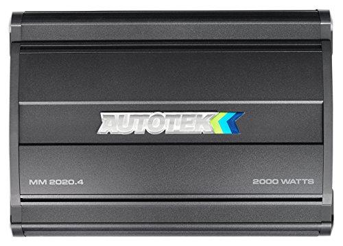 Autotek MM2020.4 Mean Machine 2000W 4 Channel Bridgeable Amplifier Car Audio Amp by Autotek