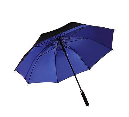 Paraguas/Mango Largo Grande Hombres y Mujeres Refuerzo Doble 2-3 Personas Paraguas protección