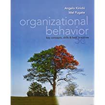 Organizational Behavior: Key Concepts, Skills & Best Practices by Angelo Kinicki (2011-12-01)