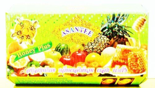 (1 Dozen) 135g. New Mix Fruit & Honey Super Whitening & Smooth Soap By Asantee. 519uviZg6VL