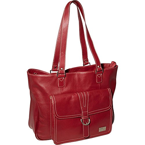 clark-and-mayfield-stafford-pro-154-leather-laptop-tote-in-deep-crimson-red
