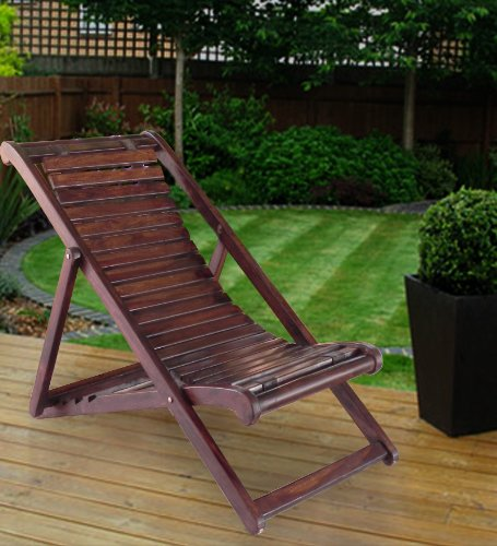 lifeestyle folding relaxing chair in sheesham wood amazon in