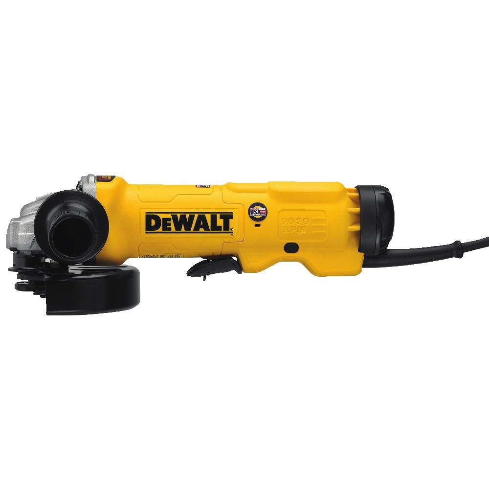 "DEWALT DWE43144 High Performance Paddle Switch Grinder, 6"""