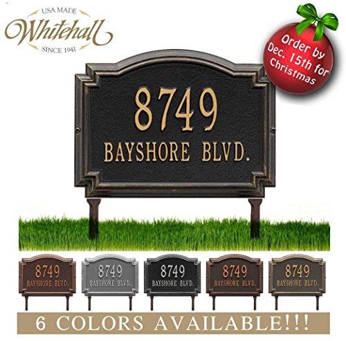 Lawn Address Sign - 2