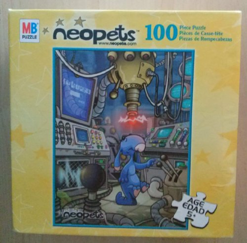 100-Pc Neopets Puzzle from MB Puzzle (Various Characters)
