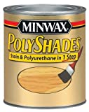 how to refinish cabinets Minwax 619750444 PolyShades - Stain & Polyurethane in 1 Step, quart, American Chestnut, Satin
