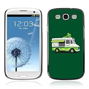 YOYOSHOP [Funny Vegeterian Brocoly Truck] Samsung Galaxy S3 Case