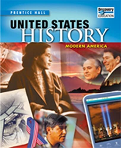 prentice hall us history modern america student edition with rh amazon com History Usss Online Textbooks Us History Book