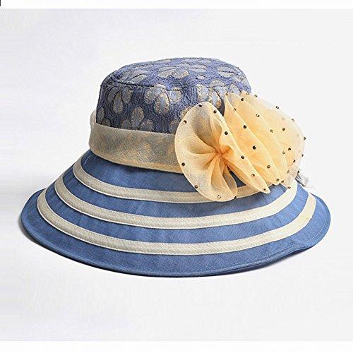 Sol Monta Visor Protección Que Del Viento Aire De Al A Ghmm Señora Verano Coche Prueba Fresco Femenino La Azul Rosa color Claro Claro Sombreros Libre Casquillo Plegable TwOITY