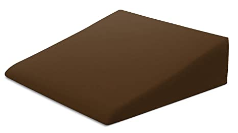 "Xtreme Comforts Hypoallergenic Memory Foam Bed Wedge Microfiber Cover Designed To Fit Our (27 'x 25"" X 7"") Bed Wedge Pillow (Brown) by Xtreme Comforts"