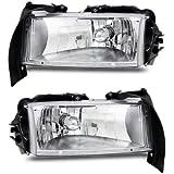 SPPC Crystal Headlights Chrome For Dodge Dakota / Durango - (Pair)