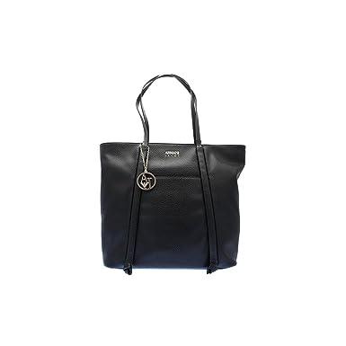 094fba23aa0c Amazon.com  Armani Jeans Pebble Faux Leather Tote Bag  Clothing