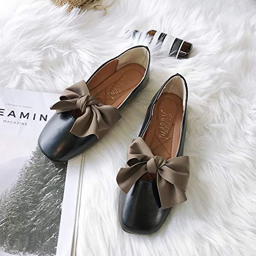 Noir Zhrui Taille Marron Chaussures Eu 37 coloré RYRHgw